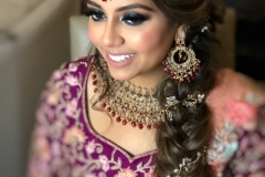 Makeup | Hair | Beauty by Ami | http://beautybyami.com/ Indian Bride South Asian Bride